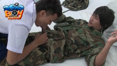 [AsiaBoyVideo] THE SOLDIER SUCK-OFF – Marvin Serves His Country, So William Serves Him [HD720p]