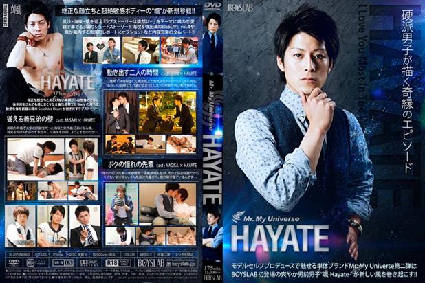 [BOYSLAB] MR. MY UNIVERSE HAYATE [HD720p]