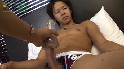 [MEN'S RUSH] MR-ON579 – カッコカワイイ系のノンケがオナホにイカされちゃった☆