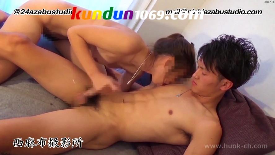 [HUNK-CH] NS-228 – 若カップルのセックス事情ー腹筋バキバキの爽やか巨根イケメン