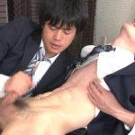 [MEN'S RUSH] GT-1213 – 今日はおクチでお掃除当番!!ジャニカワFACEの青年が制服エッチ☆