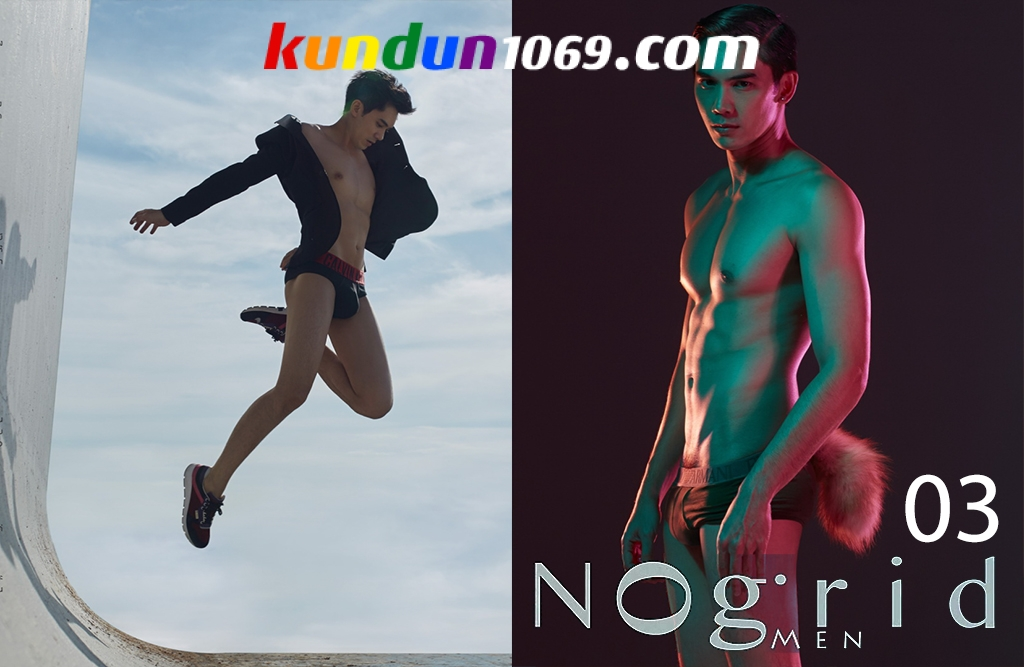 [PHOTO SET] NOGRID MEN ISSUE 03 POP