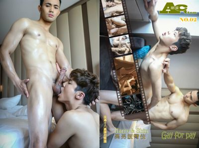 [PHOTO SET] ACTION 02 – HARRY AND SHIN -GAY FOR PAY-