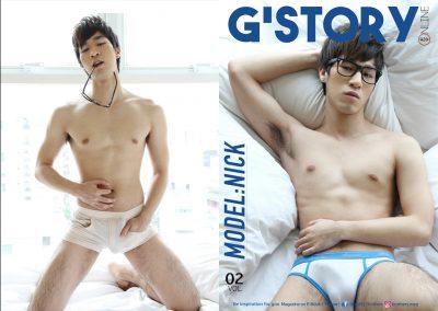[PHOTO SET] G'STORY 2 – MODEL: NICK