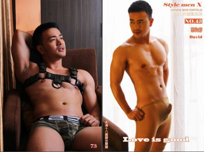 [PHOTO SET] STYLE MEN X 43 – DAVID -LOVE IS GOOD-