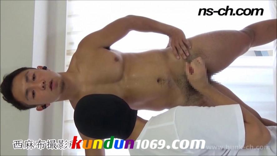 [HUNK-CH] NS-486 – ガチムチノンケが仁王立ちで大量射精!!