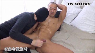 [HUNK-CH] NS-511 – ノリの良いマッチョが初撮影に挑戦!!