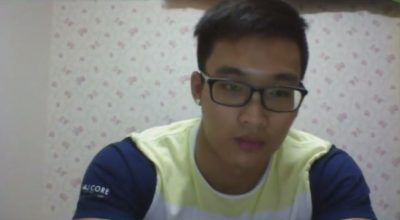 [CHINESE] MALESHOW – SPECKY HUNK WEBCAM