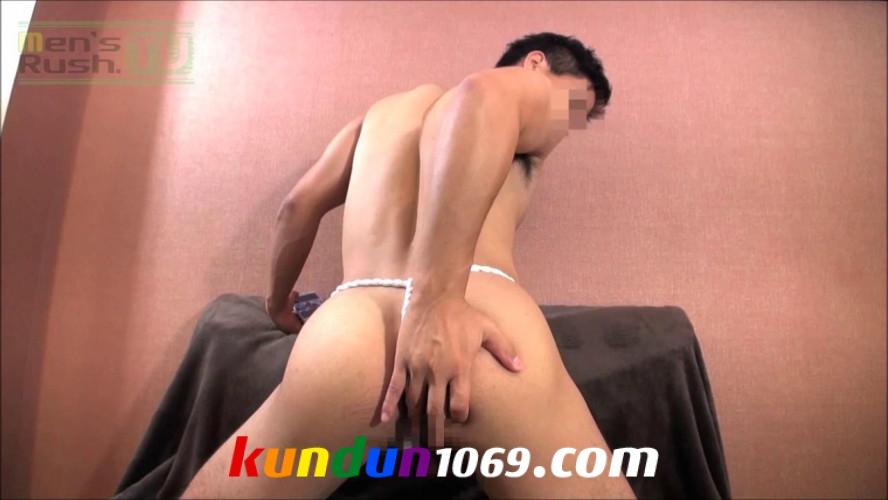 [MEN'S RUSH] MR-ON978 – 日本男児は褌!某有名体育大生が褌姿でオナホオナニー☆