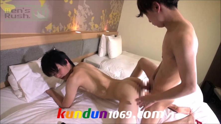 [MEN'S RUSH] MR-KR1274 – HIROTOとYUMA!人気モデル同士がホテルで生合体♂