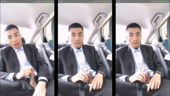 [CHINESE] SUITED JERK OFF 西裝男车上手淫