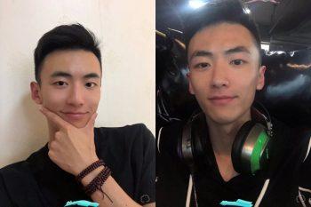 [CHINESE] 抖音网红帅哥 久珩 飞机视频