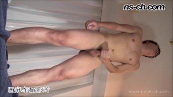 [HUNK-CH] NS-575 – 体育会ノンケのオナニー(173cm64kg20歳)