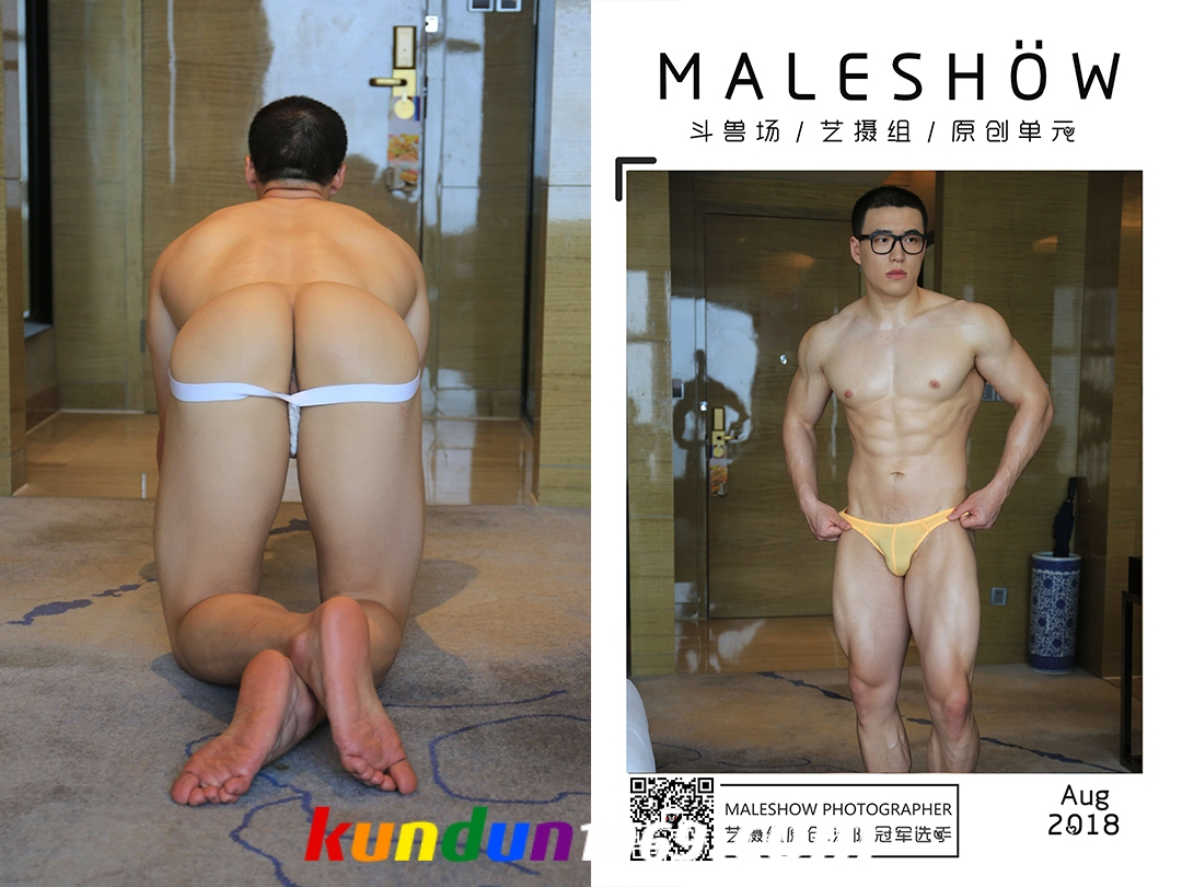 [PHOTO SET] MALESHOW AUGUST 2018 – SWIMMER YONG (BTS + 100 EXTRA PICS)