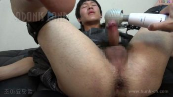 [HUNK-CH] ADL-0188 – デカ尻浴衣のノンケ君!デカ尻をバイブで激攻め!ズッボズボ!!