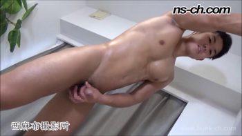 [HUNK-CH] NS-623 – 俊樹君が手オナホで腰振り擬似SEX!!