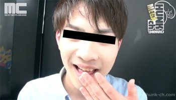 [HUNK-CH] MENP-A0125 – 【ハッテン屋外プレイ】プリクラ機内でスリル満点!主観フェラ!