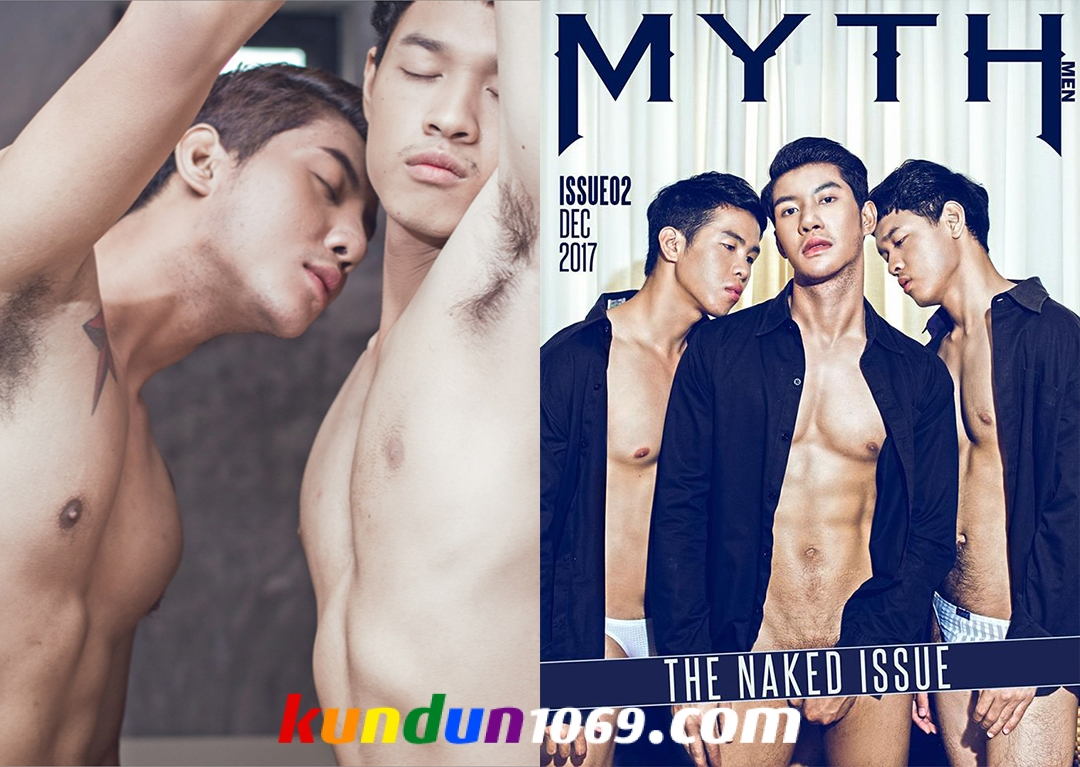 [PHOTO SET] MYTH Issue 2 – THE NAKED Issue