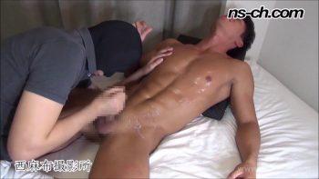 [HUNK-CH] NS-590 – 数秒ノーハンド射精!?S級筋肉男子は超早漏潮吹き体質!!