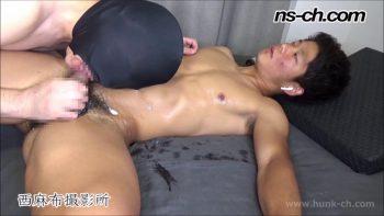 [HUNK-CH] NS-592 – 未使用アナルを生で奪う!!初アナルSEXで掘られイキ潮吹き!!(康介君編)