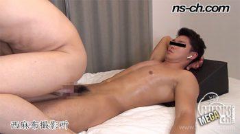 [HUNK-CH] NS-634 – S級筋肉男子のチンコで生アナルSEX!!騎乗位でノーハンド暴発射精!!