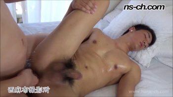 [HUNK-CH] NS-649 – 腹筋バキバキで浅黒い肌の悠斗君を生掘り!!