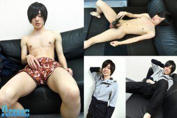 OCON036 – 美形ノンケ青年が初めての電マ&ローションで大量射精!!