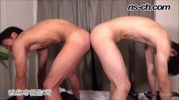 [HUNK-CH] NS-735 – 友人同士でキスイキ(175cm68kg19歳・173cm58kg20歳)