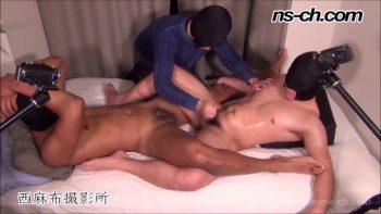 [HUNK-CH] NS-744 – 体育会選抜選手(189cm100kg19歳・173cm80kg19歳)