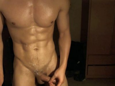 [CHINESE] LIVE BROADCAST – 6-PACKS FIT ASIAN JERKING PART.2 筋肉男自画撮りSEX