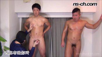 [HUNK-CH] NS-713 – 男経験0の体育会男子たち(177cm72kg21歳・174cm90kg20歳)