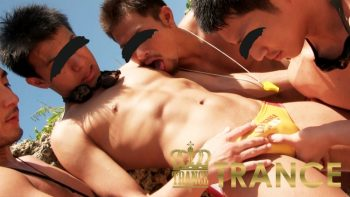 [HUNK-CH TRANCE] TR-NS003 – NAKED SUMMER PART.3 [HD720p]
