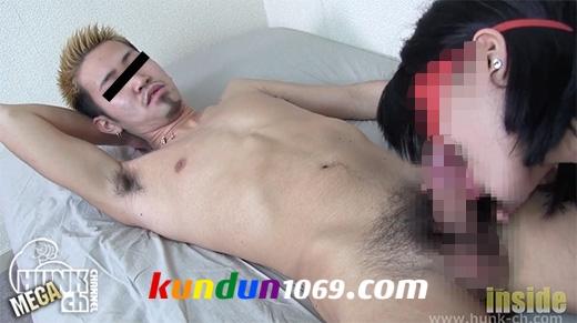 INS-0442 – 金髪チャラ男ノンケの性欲処理SEX!