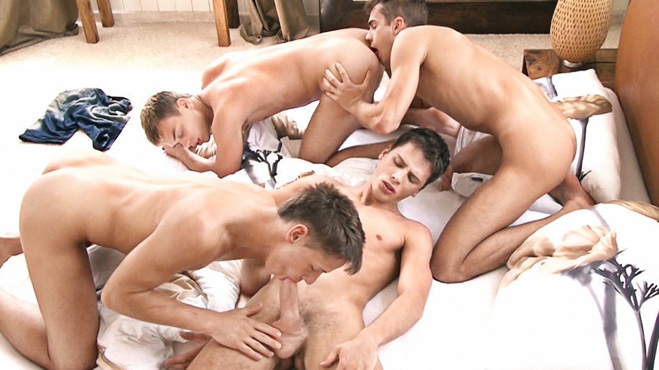[KINKY ANGELS] …ENDS UP AS AN ORGY