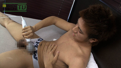 [MEN'S RUSH] MR-ON624 – 敏感青年、電マで射精して超快感☆