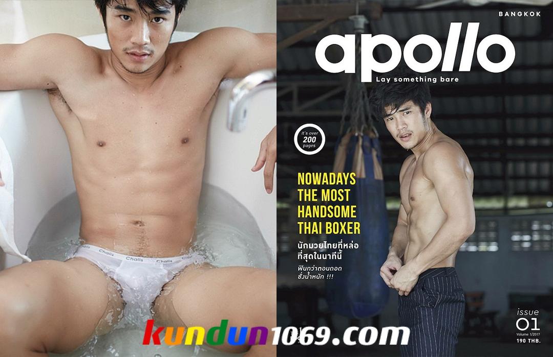 [PHOTO SET] APOLLO 01 – HANDSOME THAI BOXER