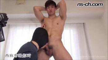 [HUNK-CH] NS-544 – S級筋肉男子早漏暴発射精!!