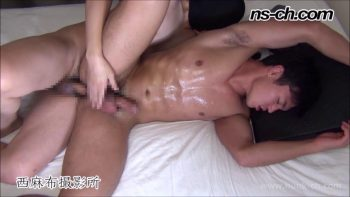 [HUNK-CH] NS-607 – S級筋肉男子凄喘ぎ生掘り中出し!!膀胱タンク満タン大量潮吹き!!