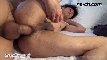[HUNK-CH] NS-613 – スリムな大学生を生掘り中出し!!