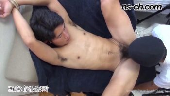 [HUNK-CH] NS-585 – 手縄縛りSEX!!(聡君編)