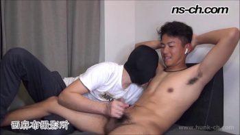 [HUNK-CH] NS-589 – 男経験0の体育会男子たち(175cm70kg20歳)
