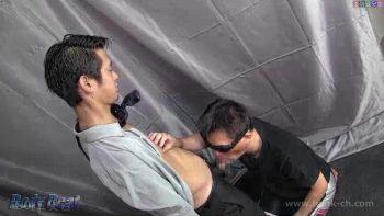 [HUNK-CH] BEAT-0014 – 営業マンが男に捕まりゲイに遊ばれる。