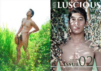 [PHOTO SET] MEN LUSCIOUS ISSUE 02 – FAME KRITTAPAT