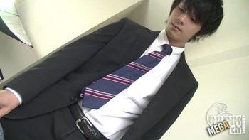 [HUNK-CH] MB-00394 – 人気爽やかスーツイケメン男子がネットリ変態口舌奉仕で男をイカす↑↑