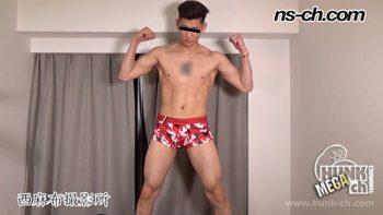 [HUNK-CH] NS-807 – ゲリラ撮影177cm73kg21歳の俳優系イケメンをスカウト