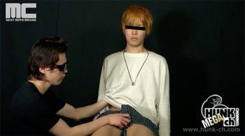 [HUNK-CH] MENP-A0307 – 178×63×18 圭太 可愛い系の大学生が男にイかされる!
