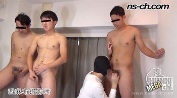 [HUNK-CH] NS-726 – 男経験0の体育会男子(181cm78kg20歳・167cm62kg20歳・176cm78kg20歳)