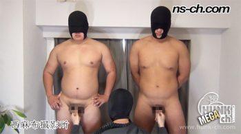 [HUNK-CH] NS-731 – 体育会選抜選手(176cm100kg19歳・181cm100kg18歳大学生)