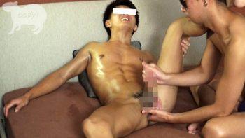 [MEN'S RUSH] KPP-0367 – 初登場!!水泳経験者で色黒腹筋バキバキ迅人(はやと)22歳!!