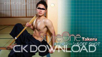 ORWE00075 『Style One Title No.22 Takeru』未公開シーン&オフショット!!